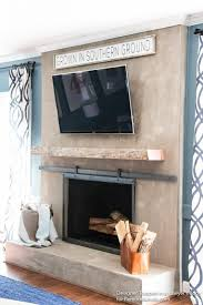 learn how to install a wood mantel even if it s super heavy with this