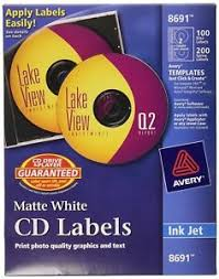 Details About Avery Cd Labels 100 Disc Labels 200 Spine Labels 8691