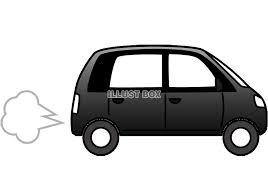 無料イラスト シンプルな車 2透過png