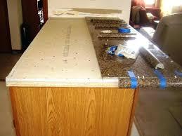how to finish granite tile edges countertop per square foot cut