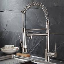 Fapully n Contemporary Spring Single Handle Kitchen Sink