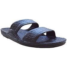 Pali Hawaii Unisex Adult Classic Jandal Sandal Black 9