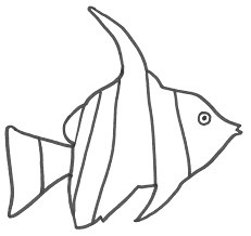 Small Picture Angel Fish Coloring Page Fish