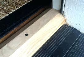 Exterior door sill Concrete Slab Exterior Door Sill How To Replace An Exterior Door Threshold Plate Door Sill Thesaurus Door Sill Exterior Door Sill Laboureco Exterior Door Sill Front Door Threshold Replacement Front Door