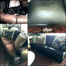leather couch dye ather couch dye for sofa black restoration before and after upholstery