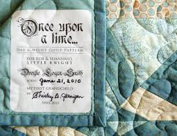 Custom Designed Quilt Label One-of-a-kind Quilt Patch & 🔎zoom Adamdwight.com