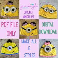 Minion Hat Crochet Pattern Best Ravelry Crochet Minion Hat Pattern Pattern By Jaley Davis
