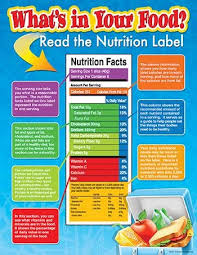 Science Related Chart Whats In Your Food Chart