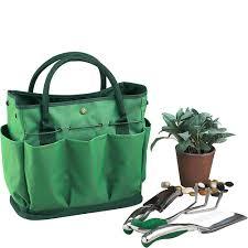 rokoo garden tote bag gardening tool storage holder oxford bags organizer tote lawn yard carrier co uk kitchen home