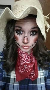 this is a cute diy scarecrow costume for