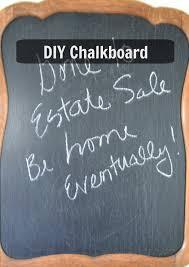 flea market find to a diy chalkboard