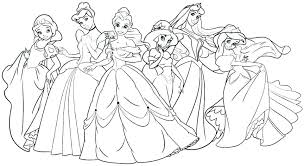 disney coloring pages free printable coloring pages free printable princesses coloring pages all the frozen characters