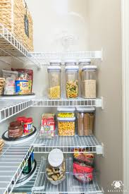 low cost budget pantry organization ideas