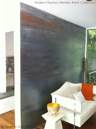 metallic paint for wallsusing metallic paint for accent walls  Modern Masters Cafe Blog