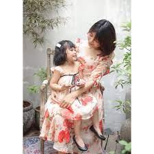 Set đầm đôi mẹ và bé (Hàng thiết kế)[ M2459 ] tốt giá rẻ