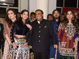 Nita Shah Designer Mukesh Nita Ambani Along With Daughter Isha Son Anant In