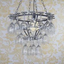 wine glass chandelier 43 tier black from litecraft