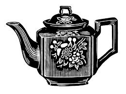 Old Teapot Illustration