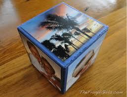 diy photo cube fun gift idea