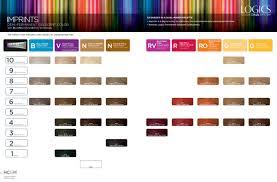 Matrix Demi Permanent Hair Color Chart Logics Color Dna System Imprints Demi Permanent Celucent