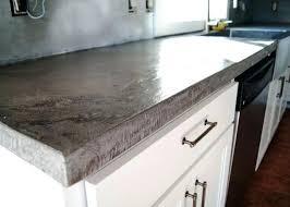 kitchen concrete countertop concrete forms home depot kitchen concrete countertop sealer