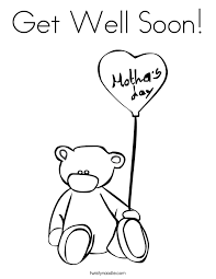 Small Picture Get Well Soon Coloring Pages 2759