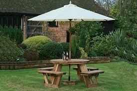 round 8 seater fsc picnic table