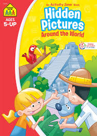 Play our free online puzzles. School Zone Hidden Pictures Around The World Workbook Ages 5 And Up Hidden Objects Hidden Picture Puzzles Geography Global Awareness And More School Zone Activity Zone Workbook Series School Zone