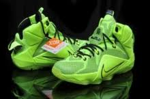 lebron james shoes 12 green. mens nike teenage lebron james 12 fluorscent green black basketball shoes j