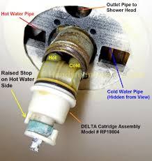 fix leaky delta shower faucet