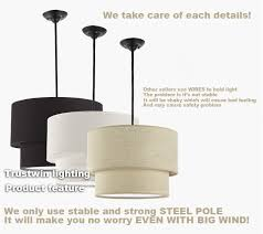 drum shade pendant lighting. aliexpresscom buy trustwin brand with flax fabric canvas linen ligen shade drum shape pendant light for dinning room living foyer from reliable lighting p