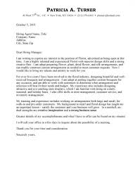 Employment Cover Letter Template Examples Of Job Cover Letters For