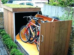 medium size of diy outdoor bike storage solutions bicycle racks for 3 bikes s furniture marvellous