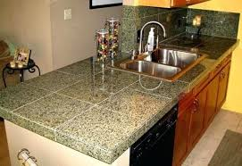 tile on kitchen countertops finished granite tile average cost of tile kitchen countertops