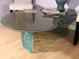 bronze le glass table top