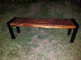 rustic wood bench. Plain Bench Image Is Loading RusticWoodenBenchSeatMetalLegsWoodEntry In Rustic Wood Bench A