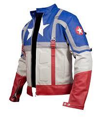 f h boy s captain america the first avenger genuine leather jacket b074v2b773