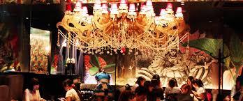 dine under a spectacular chandelier at alice s fantasy restaurant in shinjuku