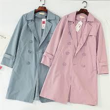 Fashion-New <b>Plus size</b> XXL-<b>5XL</b> Women Trench Coat 2019 <b>Spring</b> ...