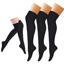 Jomi Compression Size Chart Compression Socks 3 Pairs Knee High Compression Sock