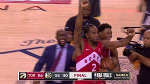 Final Seconds of 2019 NBA Finals Game 6 | Toronto Celebration | Raptors vs  Warriors - YouTube