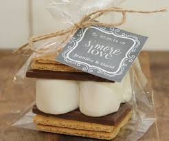 ... s'more wedding favors