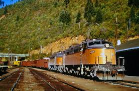 Milwaukee Road Track Charts Idaho Railroads
