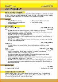 Best Resume Format 2015 Current Resume Formats Best Resume Format