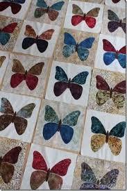 A beautiful Butterfly quilt. Edyta Sitar created the butterfly die ... & Butterflies quilt pattern by Laundry Basket Quilts Adamdwight.com