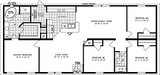 Charming Manufactured Home Floor Plan: The Imperial U2022 Model IMP 46023B 4 Bedrooms,  ...