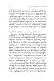 measuring quality in early childhood environments early  page 164