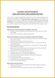 Care Worker Resume Child Care Worker Resume Template