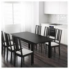 black furniture ikea. Ikea Black Furniture. Bjursta Extendable Table Brown-black 140/180/220x84 Cm Furniture E