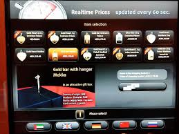 Gold Vending Machine Prices Impressive This Vending Machine Dispenses Gold Bars YugaTech Philippines